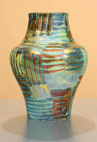[Iridescent Pottery by Paul J. Katrich (1329)]