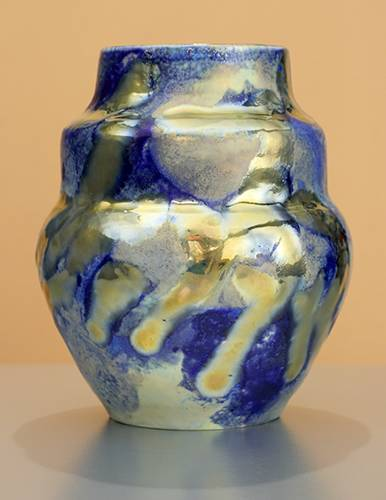 [Iridescent Pottery by Paul J. Katrich (1341)]