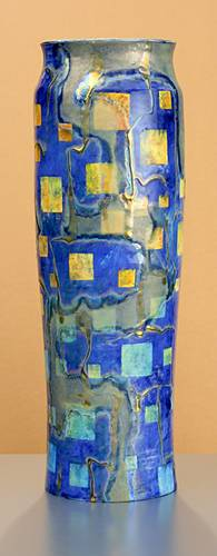 [Iridescent Pottery by Paul J. Katrich (1348)]