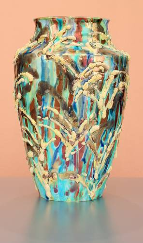 [Iridescent Pottery by Paul J. Katrich (1375)]