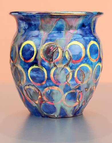 [Iridescent Pottery by Paul J. Katrich (1377)]