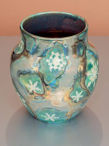 [Iridescent Pottery by Paul J. Katrich (1387)]