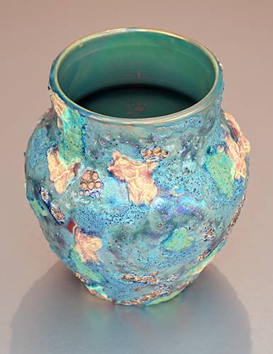[Iridescent Pottery by Paul J. Katrich (1388)]