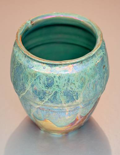 [Iridescent Pottery by Paul J. Katrich (1390)]