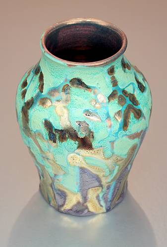 [Iridescent Pottery by Paul J. Katrich (1392)]