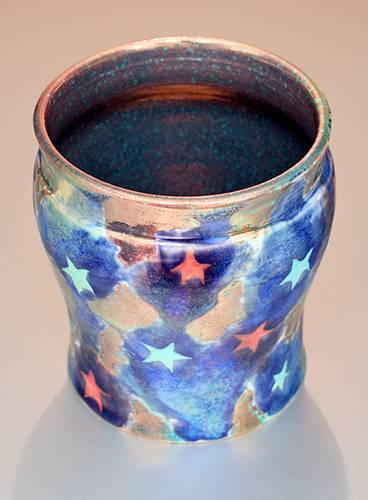 [Iridescent Pottery by Paul J. Katrich (1391)]