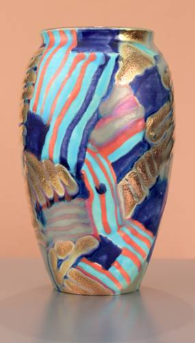 [Iridescent Pottery by Paul J. Katrich (1503)]
