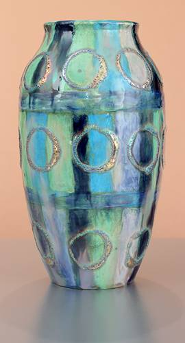 [Iridescent Pottery by Paul J. Katrich (1601)]