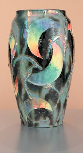 [Iridescent Pottery by Paul J. Katrich (1603)]