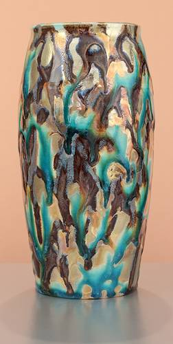[Iridescent Pottery by Paul J. Katrich (1612)]