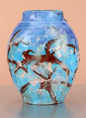 [Iridescent Pottery by Paul J. Katrich (1640)]