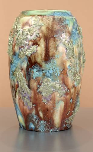 [Iridescent Pottery by Paul J. Katrich (1666)]