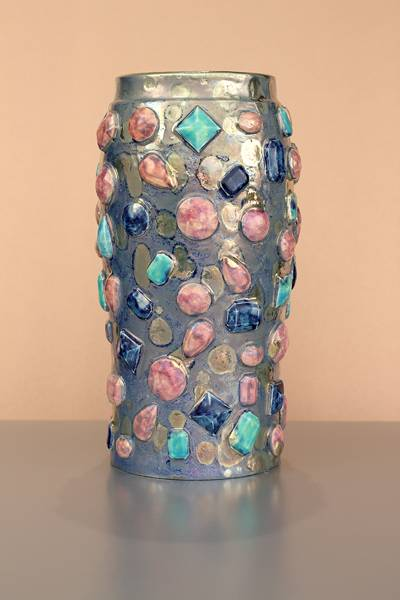 [Iridescent Pottery by Paul J. Katrich (1681)]