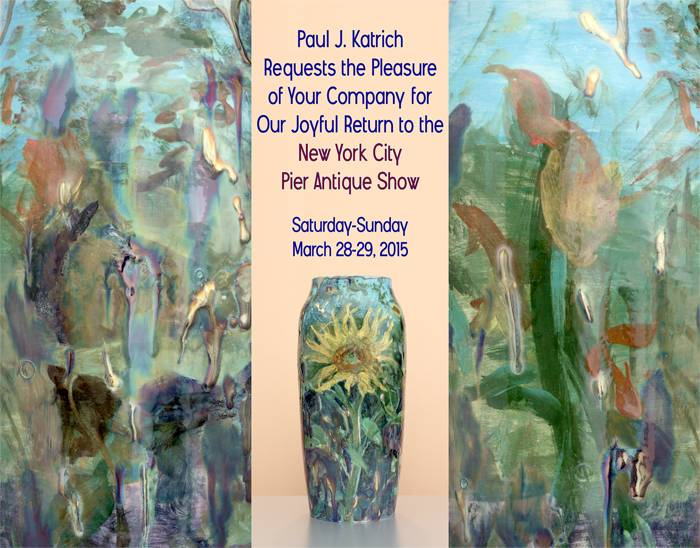 [Katrich Studios' Brochure for the Pier Antique Show, March, 2015]