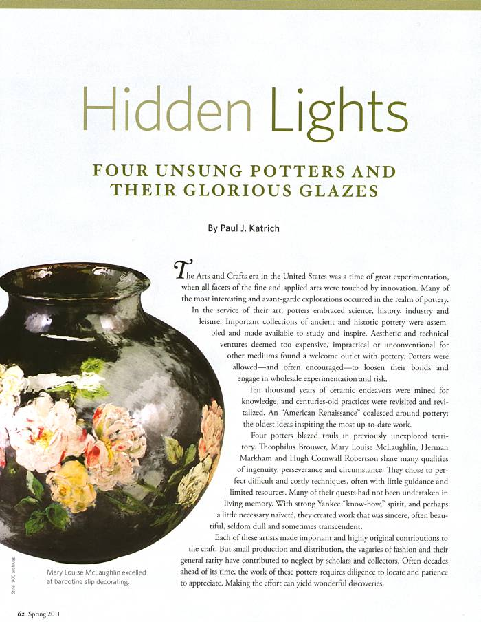 Style:1900 article, Hidden Lights, Spring, 2011, page 62