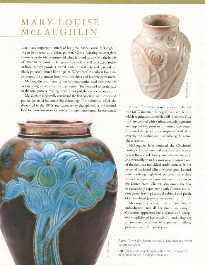 Style:1900 article, Hidden Lights, Spring, 2011, page 64