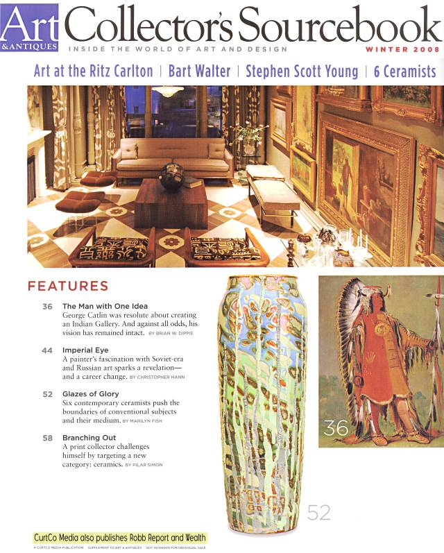 Article about Paul Katrich, 'Glazes of Glory', part 1
