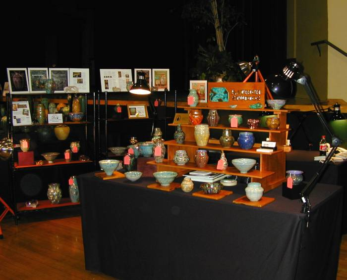 [Katrich Booth at Pottery Show California, 2001]