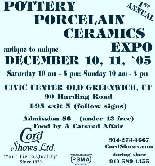 [Pottery, Porcelain, Ceramics Expo]