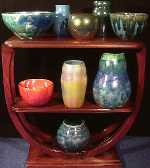 Group Picture of Pottery by Paul J. Katrich