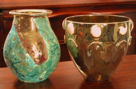 Luster Vessels by Paul J. Katrich, 0303 and 0304