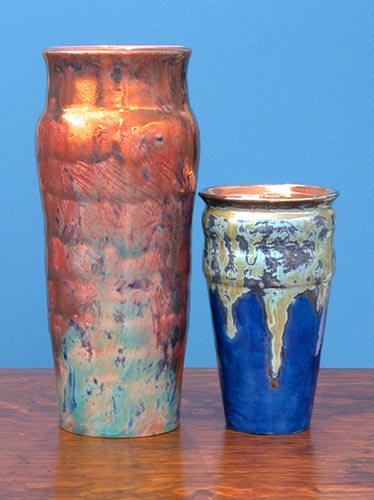 [Iridescent Pottery by Paul J. Katrich (0700 & 0699)]