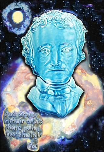 [Print P0951eap by Paul J. Katrich - 'Edgar Allan Poe']