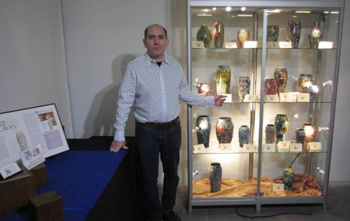 [Paul Katrich at the Pier Antique and Art Show]